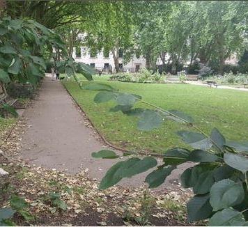 St Lukes Garden Islington 2017