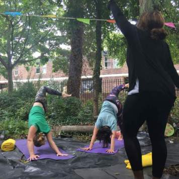 St Pauls Park Yoga & Gardening 2018