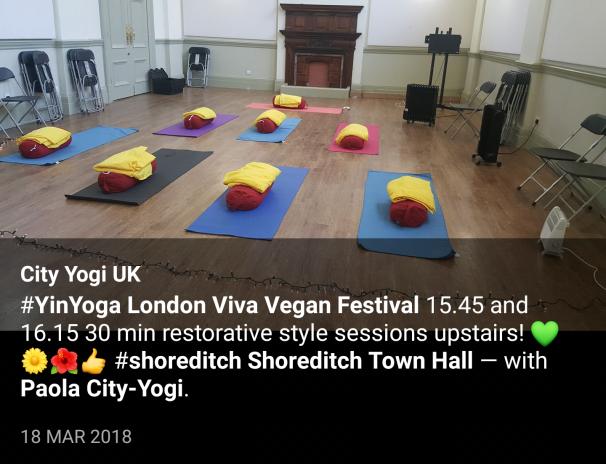 Free Yin Viva Vegal Festival in London